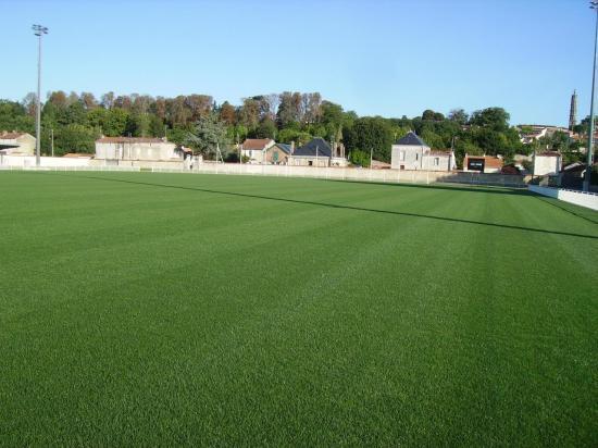 Terrain de foot de Fontenay le Comte