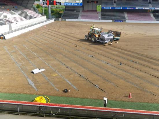 Stade Roudourou 1 - Rénovation